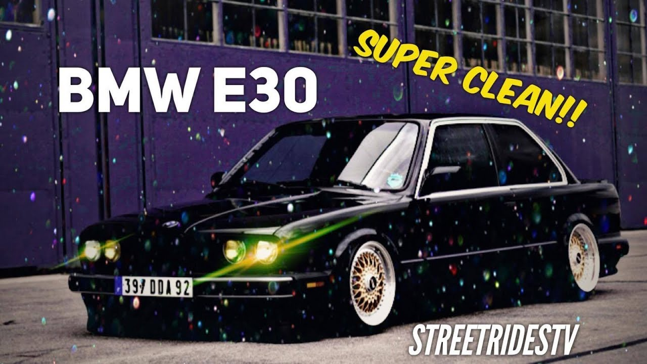 Street Rides Tv Episode 12 BMW E30 Gold STR Wheel Deepdish Old ...