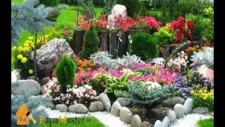 Цветники и Клумбы Своими Руками на Даче - 2018 / Flowerbeds and Flower Beds With Your Hands at Villa