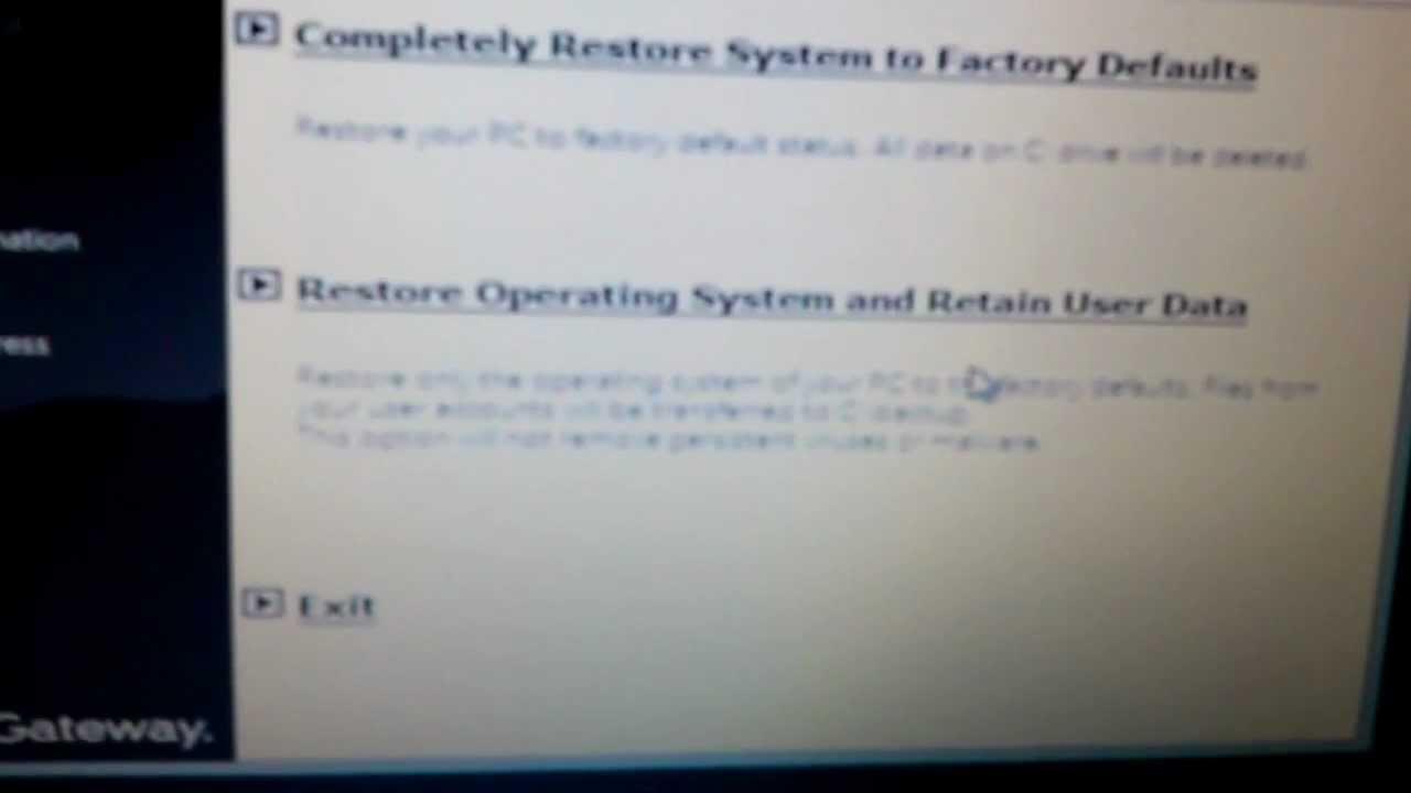 gateway reboot recovery
