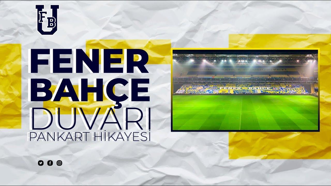 Yolumuza örülen duvarları sevdanla donattık! #FenerbahçeDuvarı