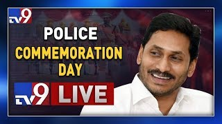 CM Jagan Participates in 'Police Commemoration Day' LIVE || Indira Gandhi Stadium - TV9