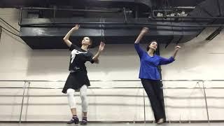 Урок Узбекского танца от Виктории Макарихиной