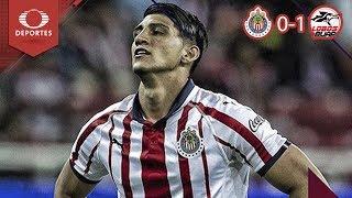 Resumen Chivas 0 - 1 Lobos BUAP | Clausura 2019 - Jornada 13 | Televisa Deportes