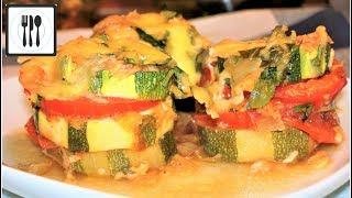 Кабачки в духовке с сыром. Обалденный рецепт. Кабачки по-Средиземноморски