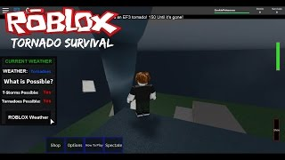 Roblox Tornado Survival (Tornado Alley 2)