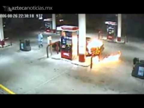 No usar el celular en las gasolineras - YouTube