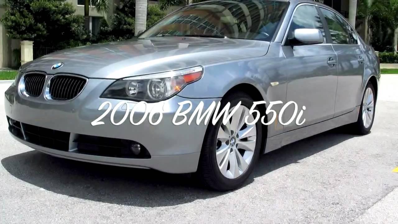 2006 Bmw 550i Silver A2336 Youtube