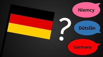 Explaining the Many Names of Germany/Deutschland/Allemagne etc.