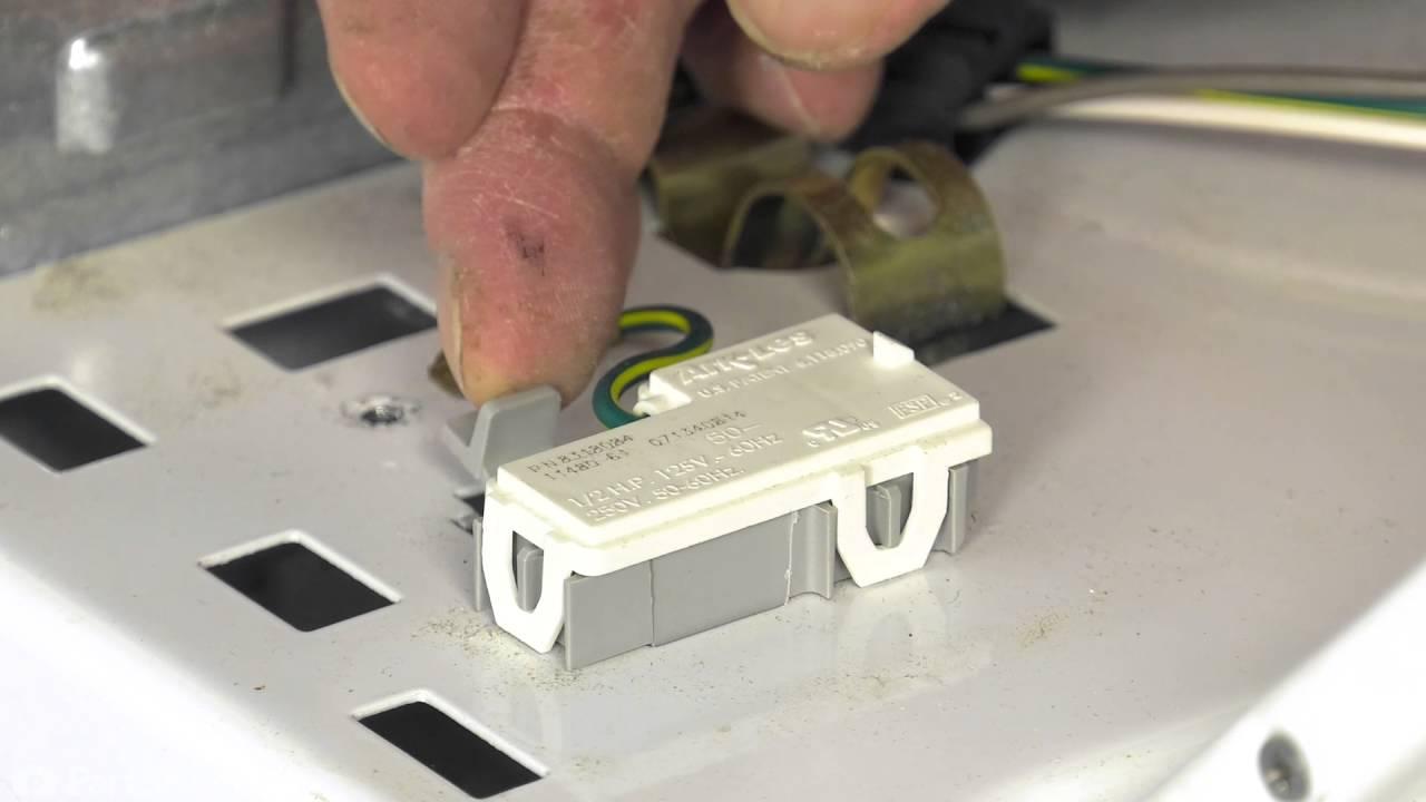 washing machine repair replacing the lid switch whirlpool part wp8318084  [ 1280 x 720 Pixel ]