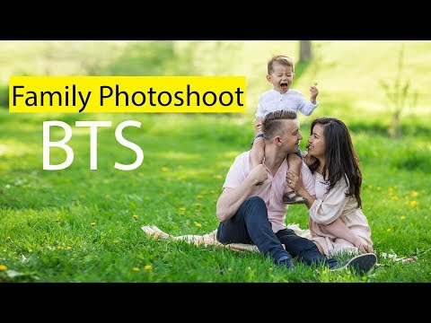 Family Photoshoot Behind The Scenes + Tips And Tricks