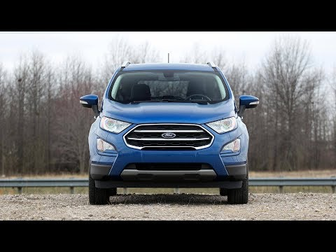 2019 Ford Ecosport S 4WD Review: Price, Specs & Features