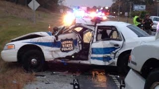 Cop Car CRASHES And INCIDENTS COMPILATION #3