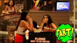 Funny Wet Fart Prank | The Sharter Toy At The Mall
