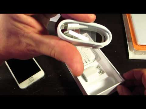 Unboxing Silver iPhone 6 - Unlocked SIM Free Version