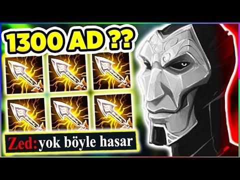 """JHIN'İN ELİNE S400 VERDİK HER RAKİBİ TEKLEDİK!! 1300 AD'Lİ 6 EBEDİ'Lİ """"TEK""""MİNATÖR JHIN!!!"""