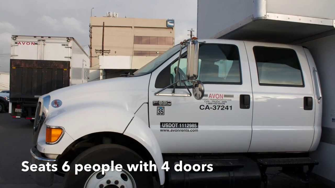 24 Quot Crew Cab Box Truck Inside And Outside Walk Around