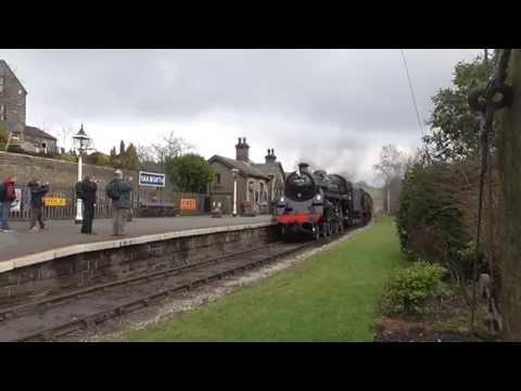 Keighley and Worth Valley Railway - Winter Steam Gala 2015 - Oakworth Station