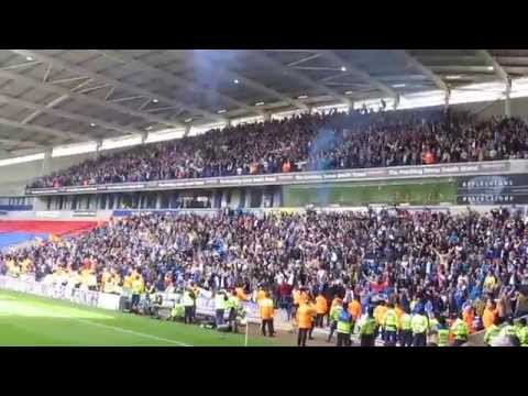 BOLTON V BIRMINGHAM - INJURY TIME EQUALISING GOAL CELEBRATIONS