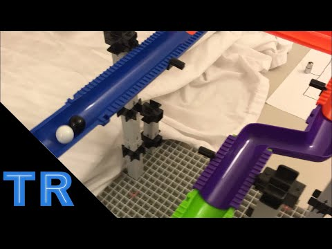 Classic Marble Race Tournament w/ 16 Marbles - Toy Racing