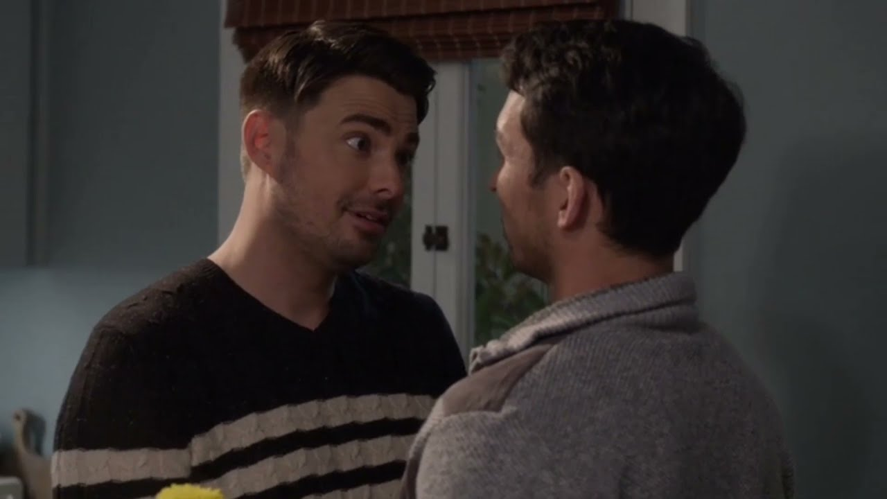 Download Michael and Travis kissing scene - Station 19 season 4 episode 9