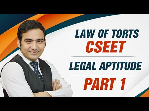 Law Of Torts Part 1 | By Advocate Sanyog Vyas | Online Hindi Law Lectures