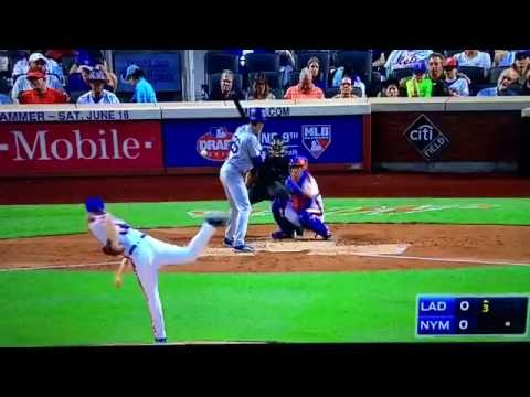Syndergaard Ejected Throwing At Chase Utley Dodgers