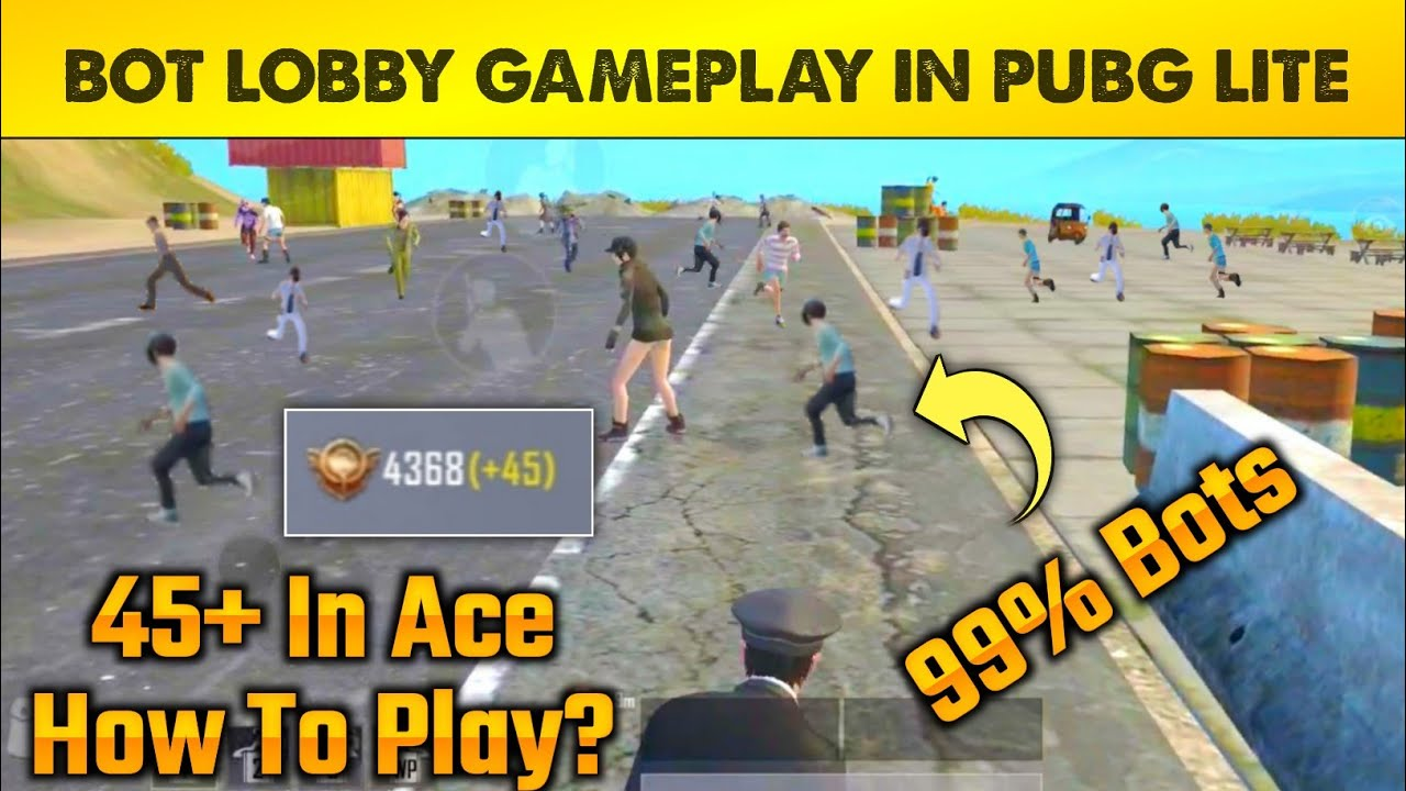 Download how to play bot lobby in pubg lite | Bot lobby kese laye pubg lite | how to get pubg lite bot lobby?