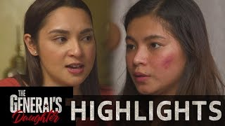 Elai hears Jessie and Rhian's fight   The General's Daughter