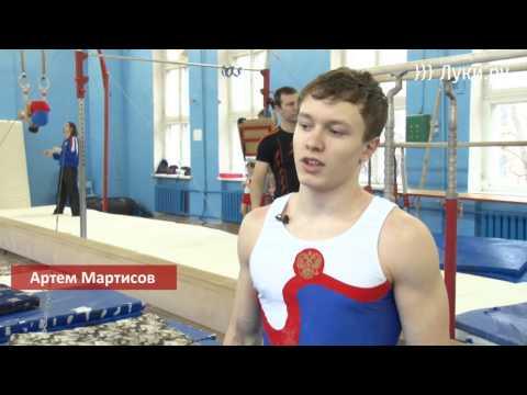 Великолукские гимнасты готовятся к чемпионату СЗФО