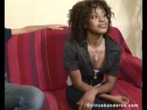 Vidéo - Abiba - Star Tonnerre ivoirienne dans son casting porno