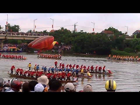 Bồng phao Đua - Lễ hội Bơi đua truyền thống sông Kiến Giang 2/9