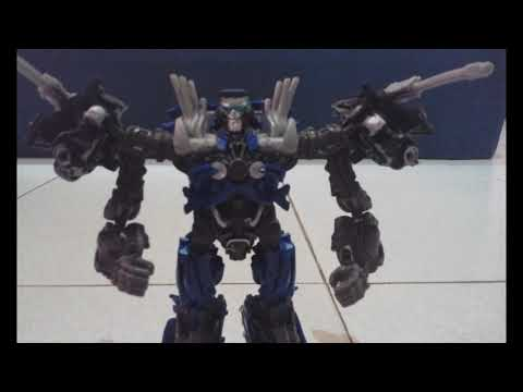 Transformers Topspin Stop Motion