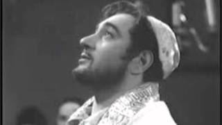 Cantor Moshe Oysher Live Mussef Pesach 1956 in the pine hotel