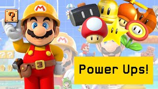 Tips and Tricks On All Of The Power-ups in Super Mario Maker 2