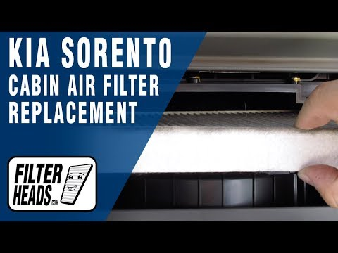 How to Replace Cabin Air Filter 2015 Kia Sorento