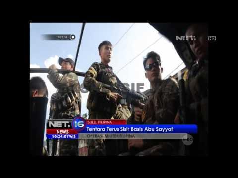 Serangan Mendadak Kelompok Abu Sayyaf Terhadap Militer Filipina - NET16