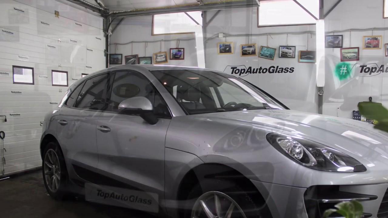 Porsche Macann Замена бокового стекла