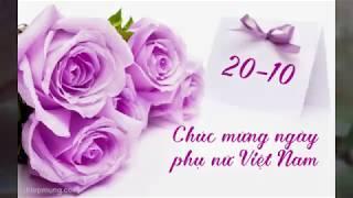 Thiệp chúc mừng 20-10 đẹp và ý nghĩa