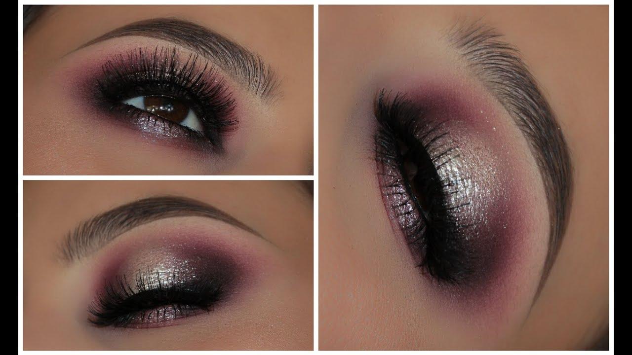 A Purple and Silver Spotlight Smokey Eye | Amys Makeup Box