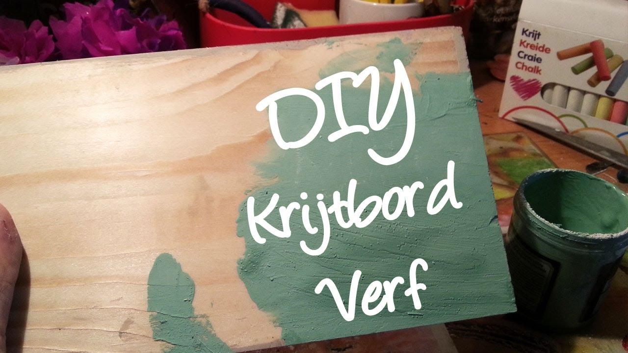 Hoe maak je zelf krijtbord verf zelf annie sloan look a like maken diy youtube - Hoe te krijgen roze in verf ...