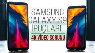 Samsung Galaxy S9 ve S9+ İpuçları