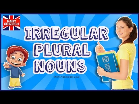 Irregular Plural Nouns - English Grammar Simplified