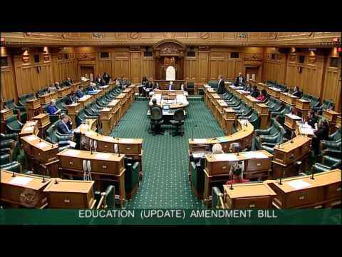 Education (Update) Amendment Bill - Committee Stage