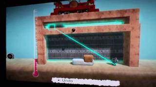 Little Big Planet How To Make A House,bed And Dock!!!