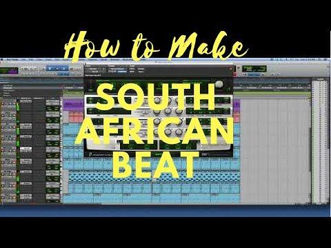 Studio Beat Making- South African Beat Tutorial- Pro Tools