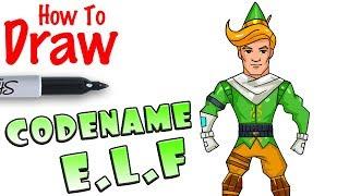 Comment dessiner le nom de code E.L.F. Fortnite Fortnite