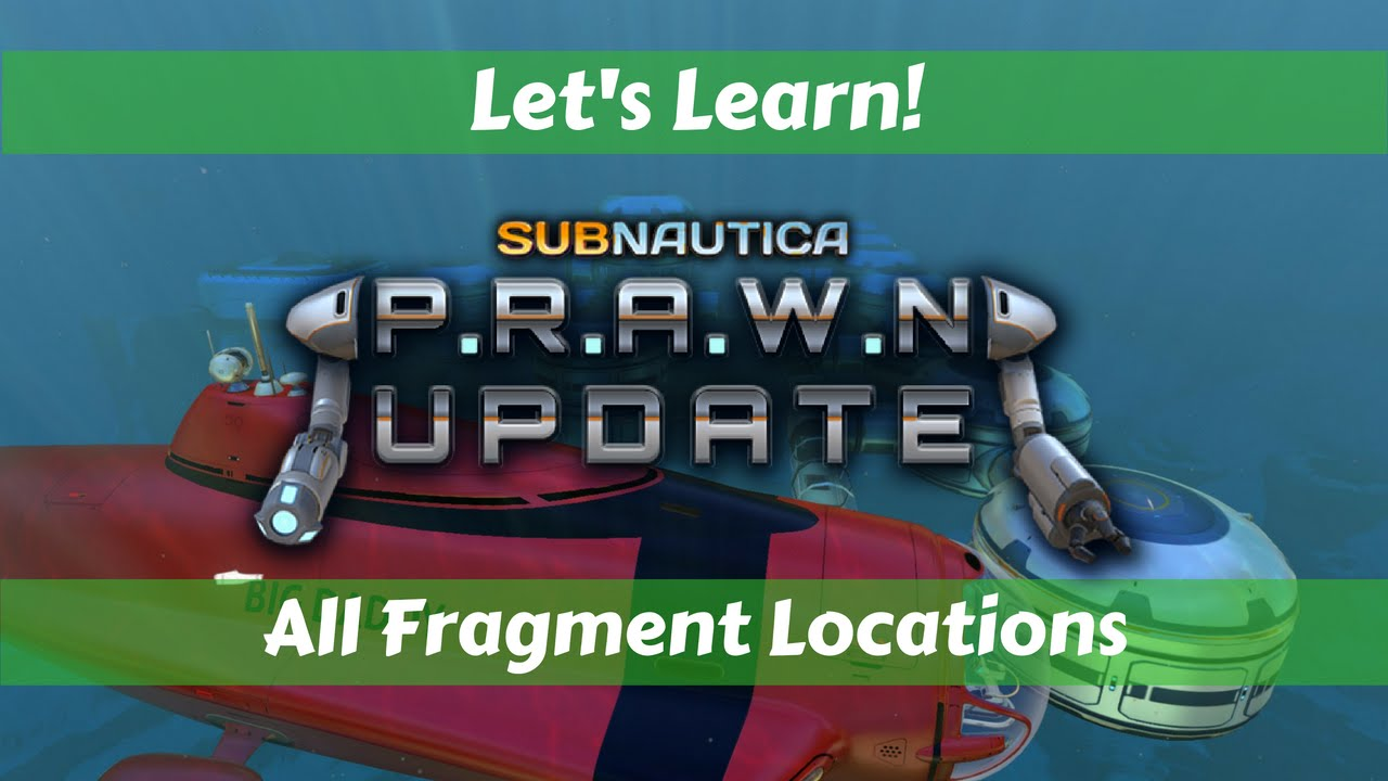 Subnautica Scanner Room Fragments Coordinates – Subnautica's bizarre alien life and dramatic rock formations make it easy to spend a lot of time beneath the waves, but it's also easy to get completely to actually note locations, you need a coordinate system, and you have two options: