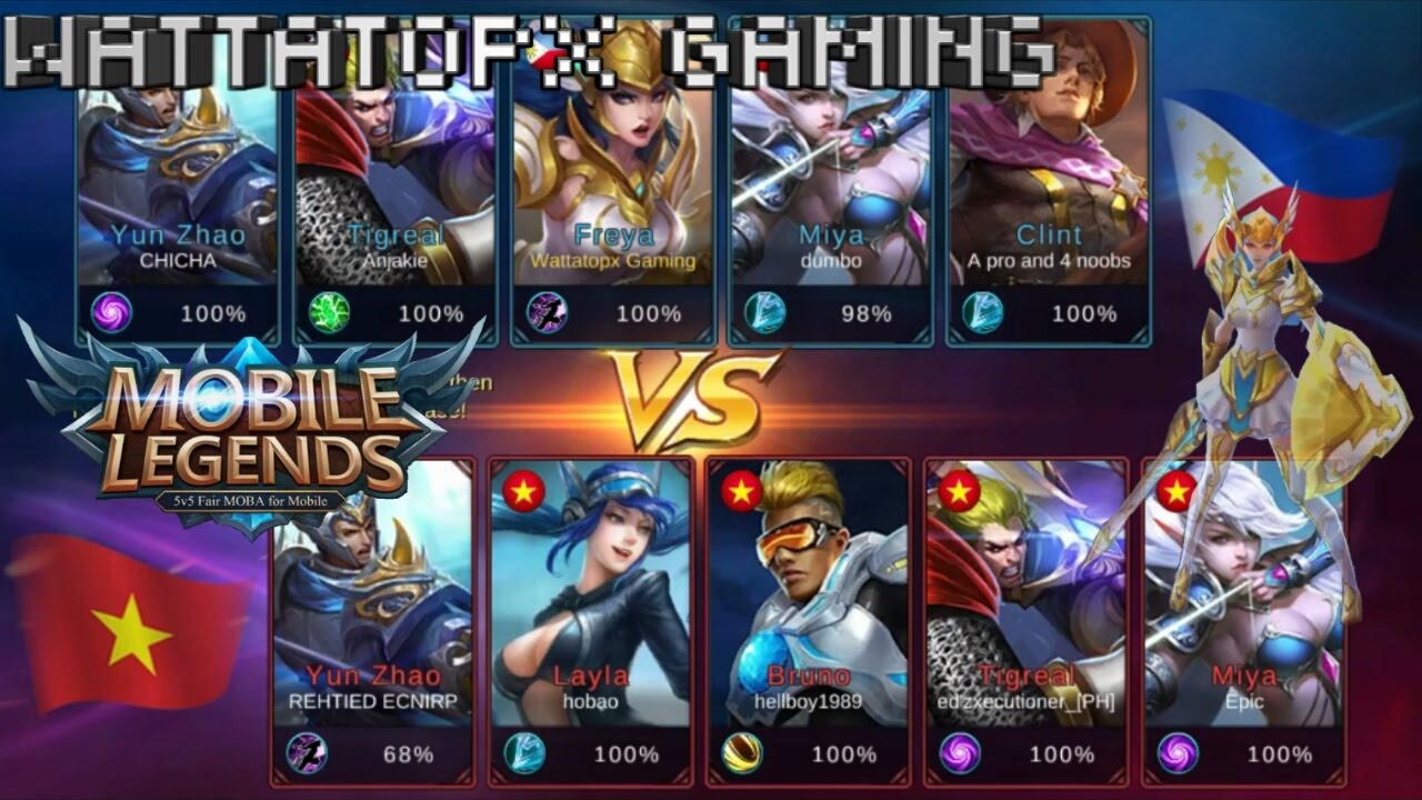 mobile legends: bang bang! philippines vs vietnam - youtube