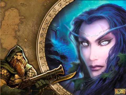 World of warcraft - Forêt d'Elwyn (music)