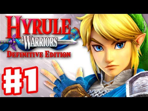 Hyrule Warriors: Definitive Edition - Gameplay Walkthrough Part 1 - Link in Hyrule Field!